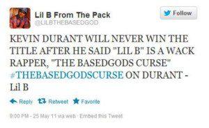 Lil B Kevin Durant Tweet