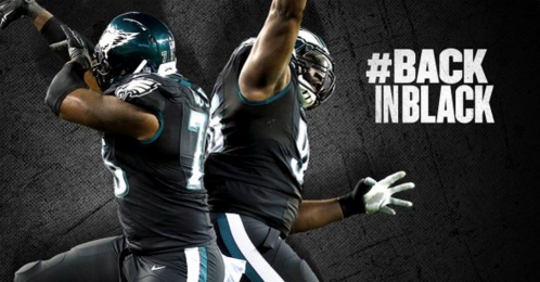 1fcb10d5562 The Eagles Will Be Wearing Their All-Black Uniforms on Sunday Night ...
