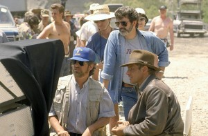 harrison ford and Spielberg