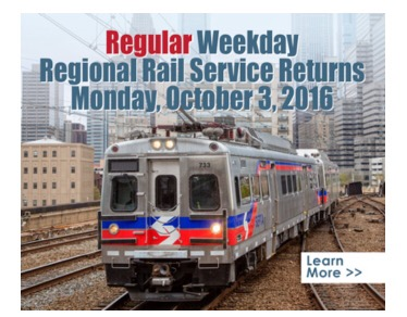 septa regional rail schedules are back to normal almost. Black Bedroom Furniture Sets. Home Design Ideas
