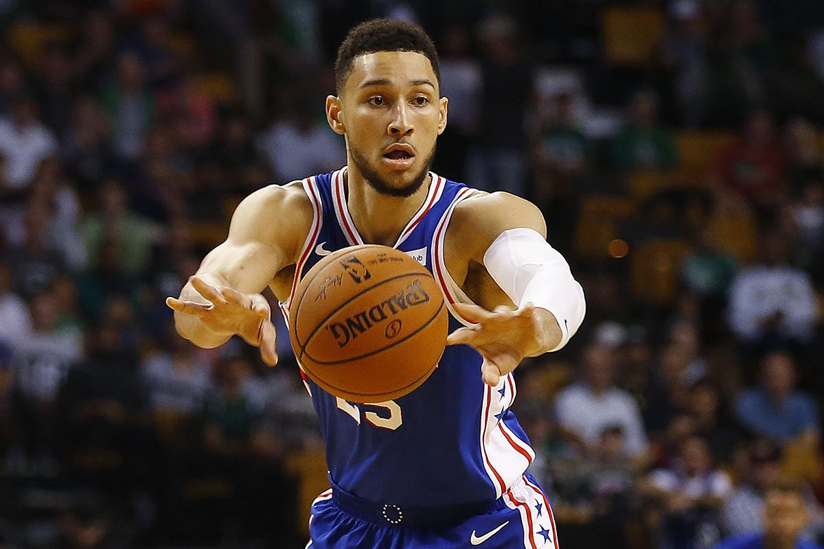 Image result for ben simmons passing
