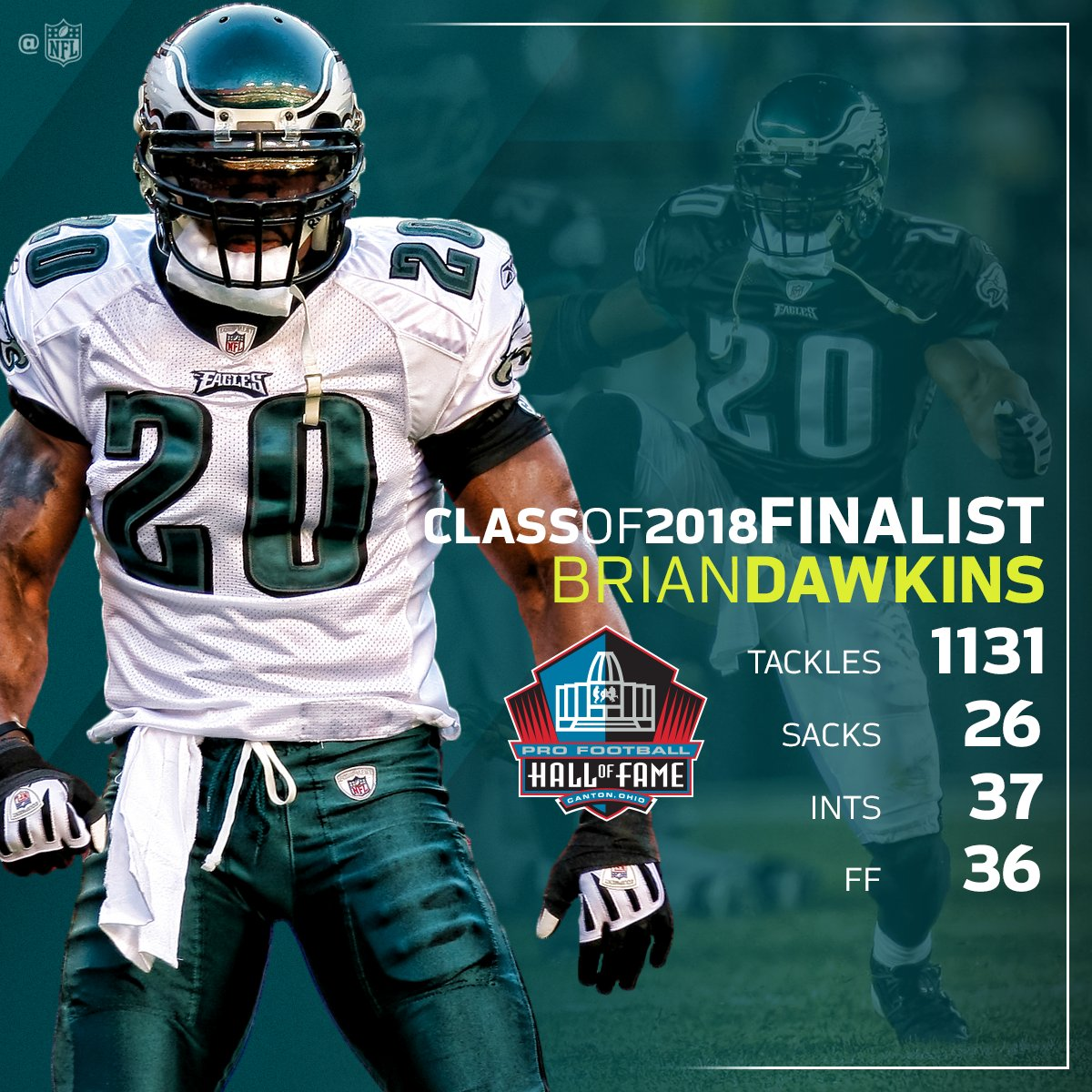 Brian Dawkins, Terrell Owens Among This Year's Pro Football Hall of Fame Finalists ...