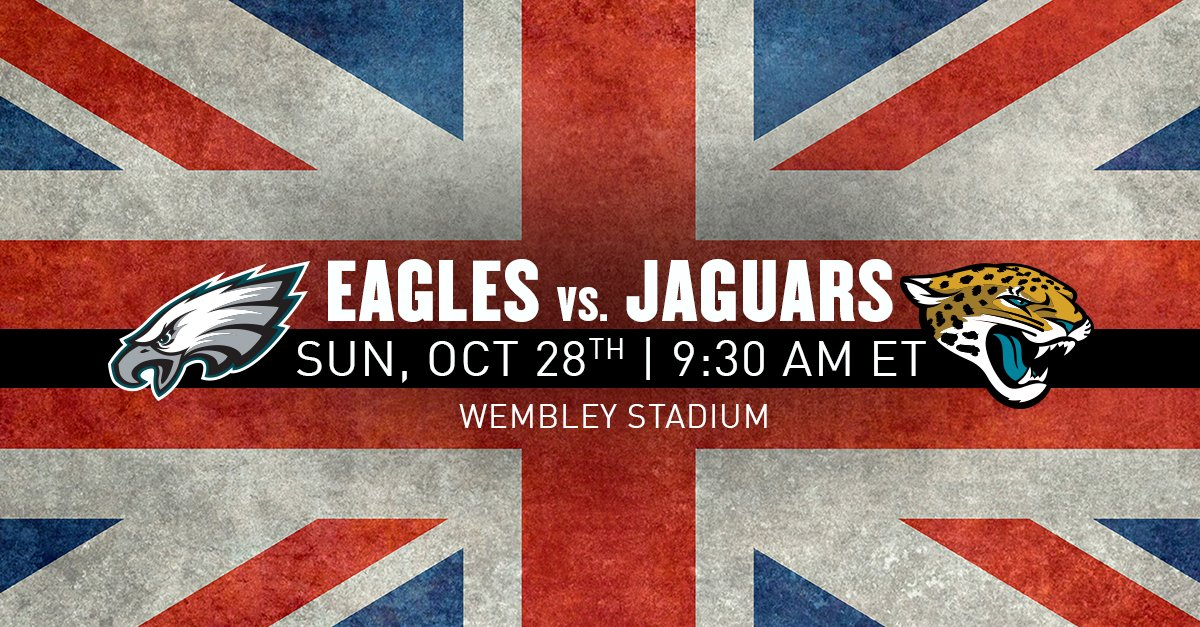 The date for Eagles vs. Jaguars in London has been set ...