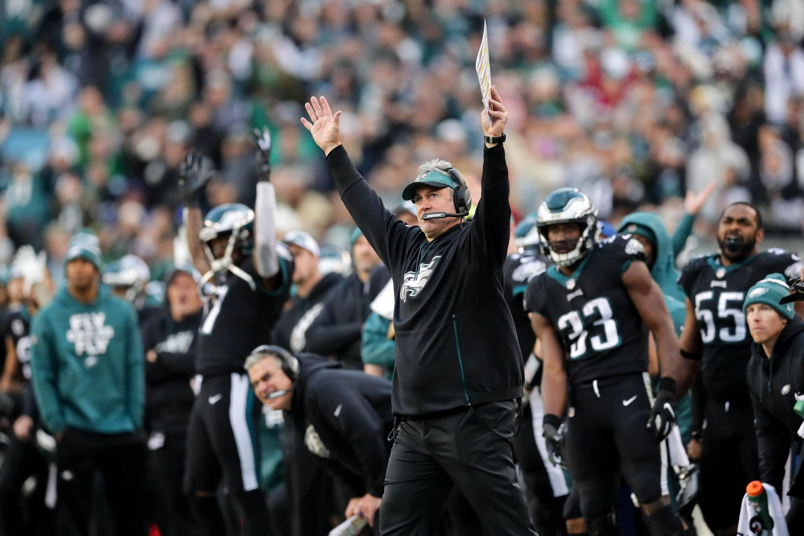 Eagles Vs Giants Week 12 Observations And Reaction