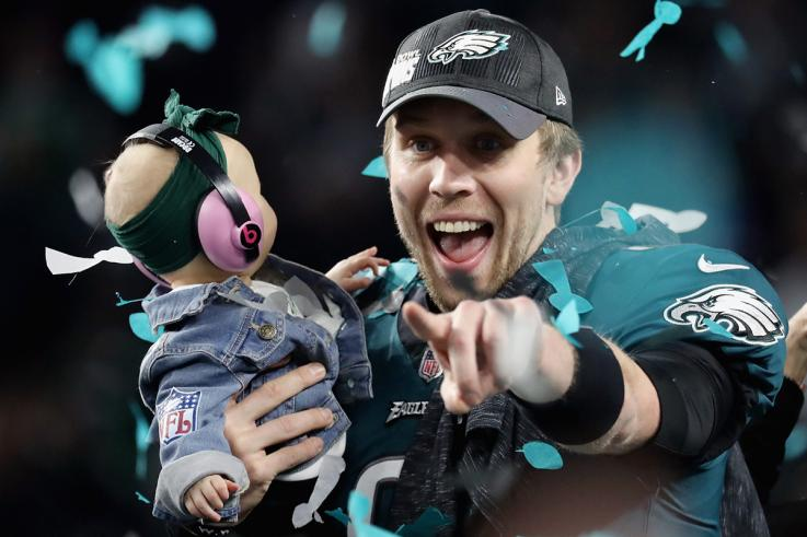 Nick Foles pays the Eagles $2M buyout payment via cashiers check