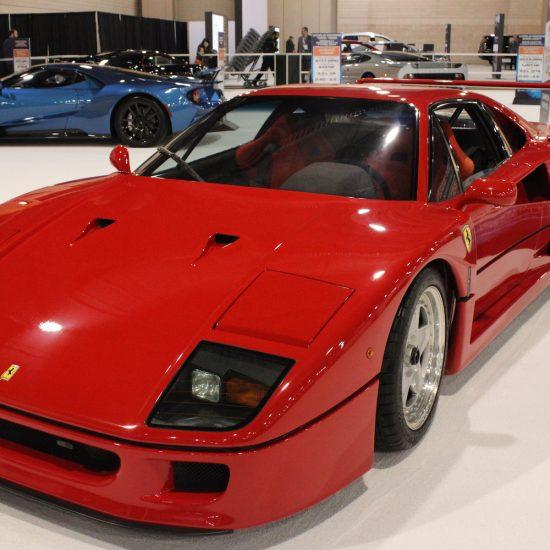 ( 1992 Ferrari F40 // Photo by Candis R. McLean)